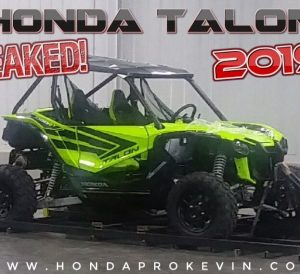 New 2019 Honda TALON 1000 Sport Side by Side / UTV / SxS Info Leaked + Pictures!