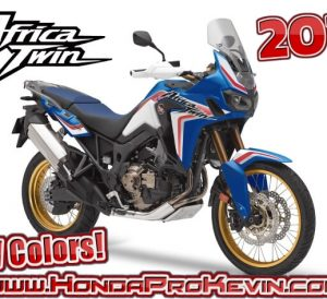 NEW 2019 Honda Africa Twin Colors & Adventure Sports Color Options | Review of Specs, Changes, Features, Accessories + More!