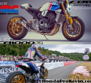 Custom 2019 Honda CB1000R HRC Specs | Naked CBR Sport Bike / StreetFighter / Neo Sports Cafe Motorcycle
