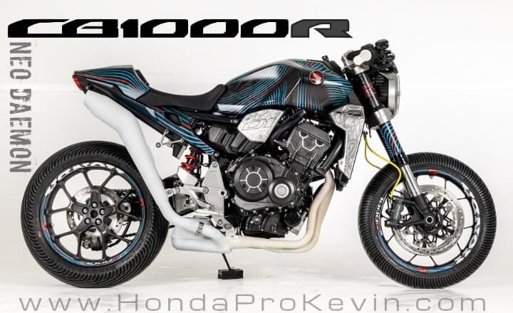 New Custom Honda CB1000R 'Neo Daemon' / Neo Sports Café | Naked CBR Sport Bike (Glemseck 101)
