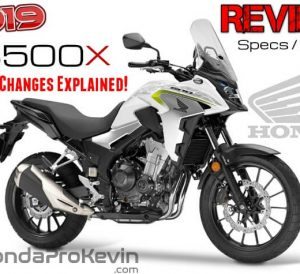 NEW 2019 Honda CB500X Review / Specs + Changes: Price, HP & TQ Performance, MPG, Colors + More...