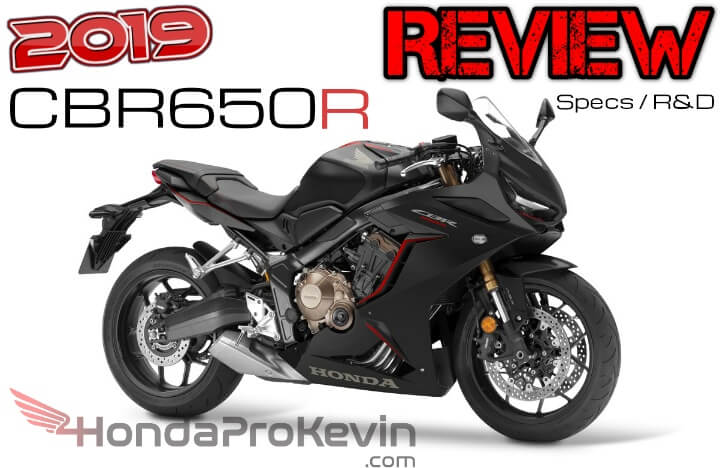 New 2019 Honda Cbr650r Review Specs Changes From Cbr650f Explained