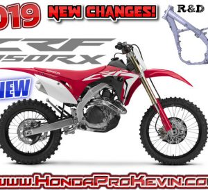 2019 Honda CRF450RX Review / Specs: Price, HP & TQ, Engine, Frame, Suspension R&D + More! | CRF 450 Dirt Bike / Motorcycle Buyer's Guide