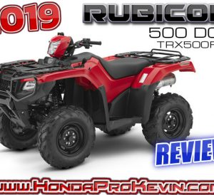 2019 Honda Foreman RUBICON 500 DCT ATV Review / Specs | Buyer's Guide = Everything you NEED to know about the TRX500 FourTrax 4x4 Four-Wheeler from Honda...