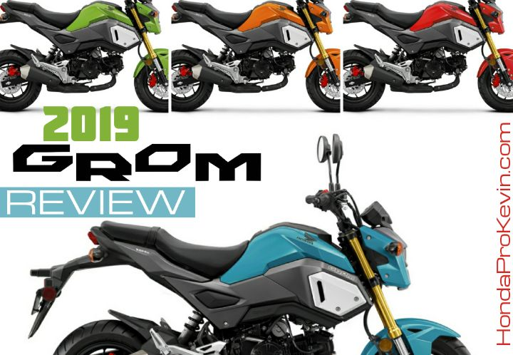 2019 Honda Grom 125 Review of Specs + NEW Changes! | Price, Colors, HP & TQ Performance Info | 2019 Honda MSX125 / MSX 125 / MSX125SF