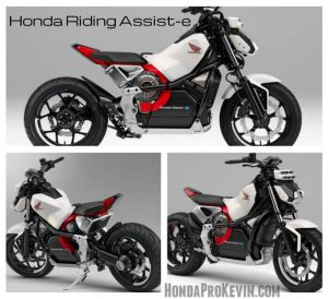New 2019 - 2020 Honda Motorcycles / Concept Bikes - Electric Riding Assist-e Self Balancing Motorcycle