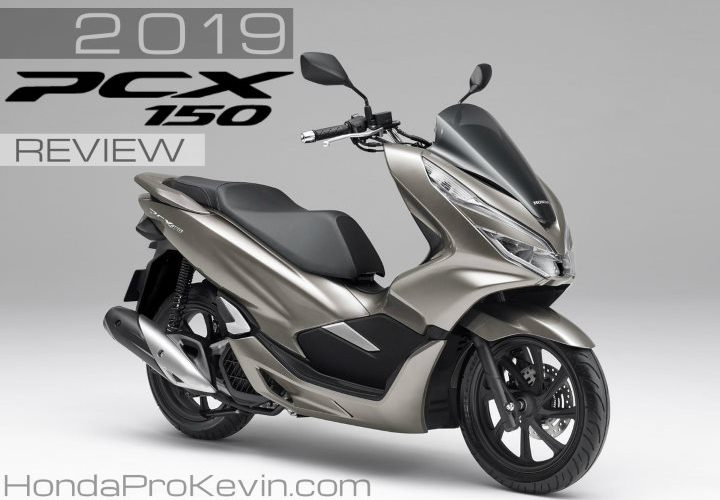 2019 Honda PCX150 Scooter Review of Specs + NEW Changes! | Price, Colors, MPG, Release Date + More in this Automatic Scooter Buyer's Guide