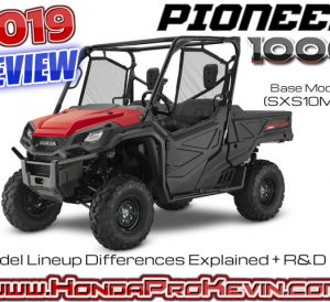 2019 Honda Pioneer 1000 Review / Specs: Changes, Price, Colors, Horsepower & Torque Performance Info, Top Speed + More! | 1000cc Side by Side / UTV / SxS / ATV / MUV
