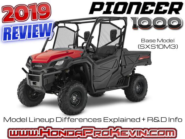 Honda Pioneer Reviews >> 2019 Honda Pioneer 1000 Review Specs R D Info