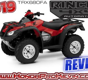 2019 Honda Rincon 680 ATV Review / Specs | Buyer's Guide: Changes, Price, HP & TQ Performance Info, Ground Clearance, Suspension Travel, Dimensions + More! | TRX 680 FourTrax / TRX680FA / 700 cc class Four-Wheeler