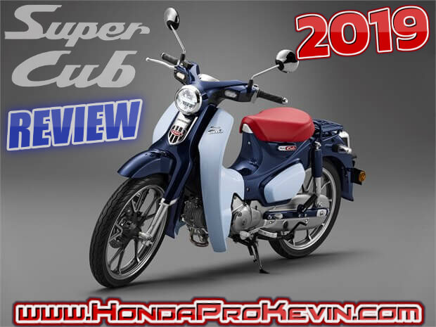 2019 Honda Super Cub 125 Review / Specs | USA Buyer's Guide: Price, Release Date, Colors, MPG + More! | Motorcycle / Scooter