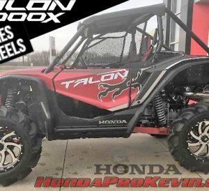 "Honda TALON 1000X 33 inch Mud Tires + 18"" Wheels: Sizing Info 