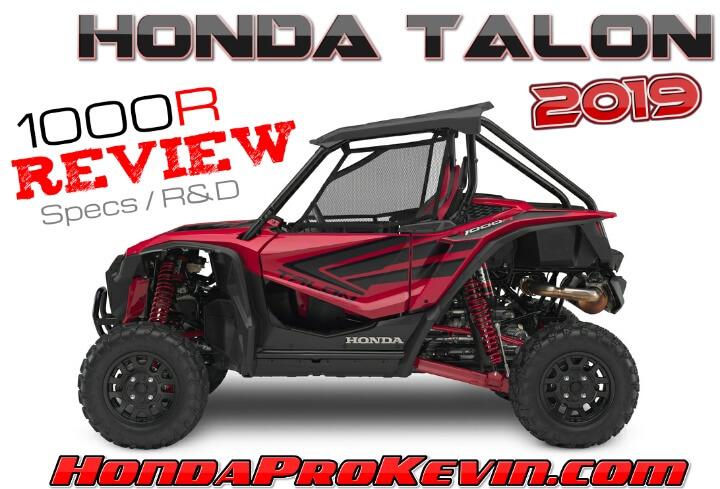 Honda Atv Side By Side >> 2019 Honda Talon 1000 R Review Specs R D More