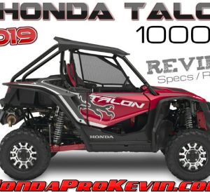 2019 Honda TALON 1000X Review / Specs: Price, Release Date, Horsepower, Colors + More! | Sport SxS / UTV / Side by Side ATV 1000 cc