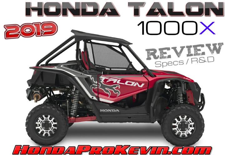 2019 Honda TALON 1000X Review / Specs: Price, Release Date, Horsepower, Colors + More! | Sport SxS / UTV / Side by Side ATV 1000 cc