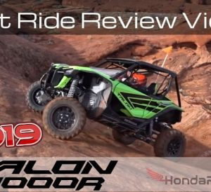 First 2019 Honda Talon 1000R Test Ride Review Video! New Honda Talon Sport SxS / UTV / Side by Side!