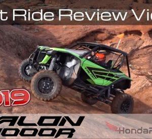 First 2019 Honda Talon 1000R Test Ride Review Video! New Honda Talon Sport SxS / UTV / Side by Side!