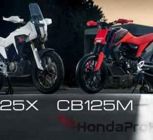 2020 Honda Motorcycles: SuperMoto / Motard & Adventure Bikes | CB125M / CB125X Concept from CB125R