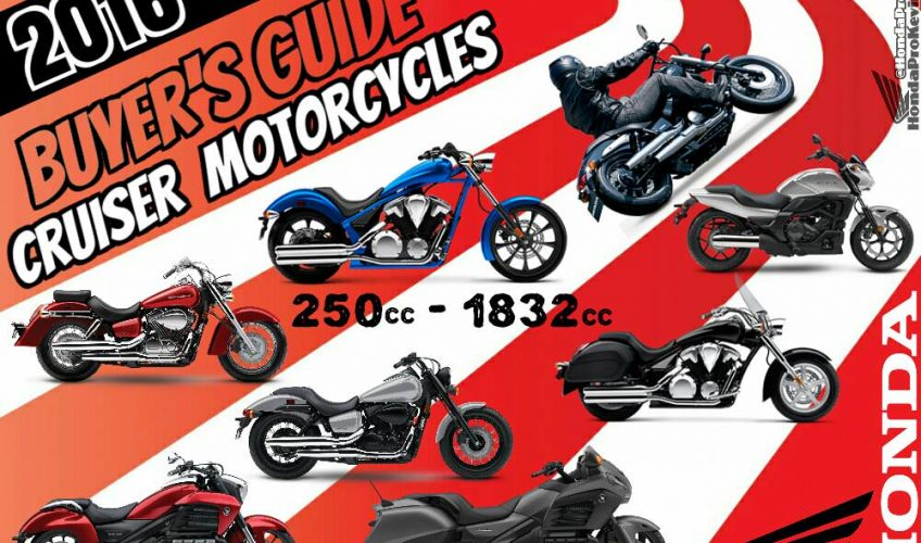 2016 Honda Motorcycles / Cruiser Models - Buyer's Guide
