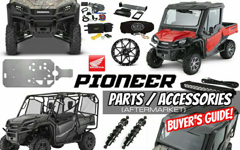 2020 2016 Honda Pioneer 1000 Aftermarket Accessories
