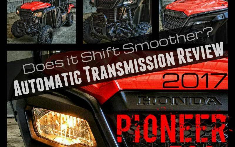 2017 Honda Pioneer 500 Review - Automatic Transmission Video - Side by Side ATV / UTV / SxS / Utility Vehicle - SXS500M2