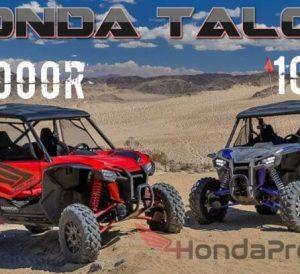 2019 Honda TALON 1000 / 1000R / 1000X Review + Specs: Price, Release Date, Colors, HP & TQ Performance Info + More!