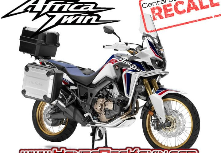 New Honda Africa Twin CRF1000L RECALL!