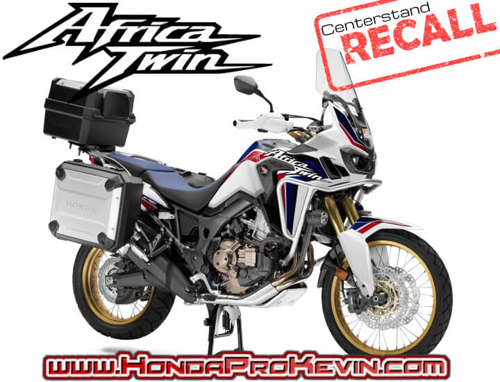 NEW Honda Africa Twin CRF1000L RECALL on Accessories | Motorcycle News & Model Announcements / Info Release