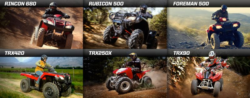 2018 Honda ATV Models / Lineup Review & Specs