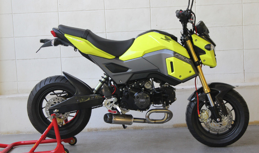 Honda Grom Review >> New 2017 Honda Grom Msx 125 Exhaust Systems Released By