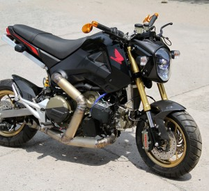 Custom Honda Grom / MSX Engine Swap - Ducati 1199 R Panigale Sport Bike / Motorcycle