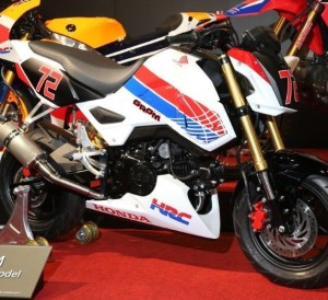 2017 Honda Grom MSX 125 HRC Race Bike / Motorcycle - Performance Parts, Exhaust, Ohlins Suspension, Track Plastics Bodywork