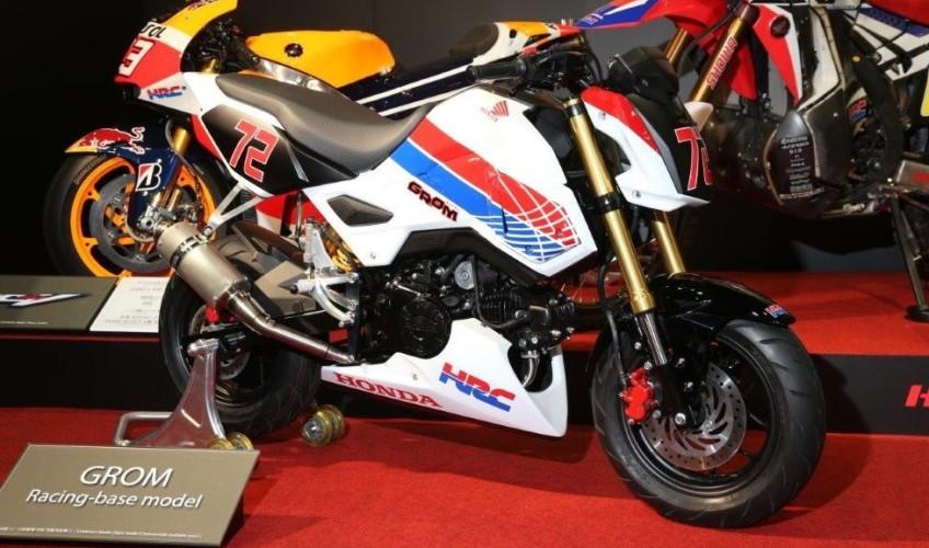 2017 Honda Grom MSX 125 HRC Race Bike / Motorcycle - Performance Parts, Exhaust, Ohlins Suspension, Track Plastics Bodywork