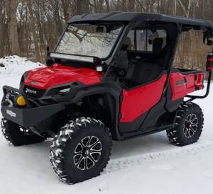 "Custom Honda Pioneer 1000 Lifted - 30"" Tires & Aftermarket Wheels - LED Lights - Lift Kit - Side by Side ATV / UTV / SxS / 4x4 Utility Vehicle 1000-5 Delixe"