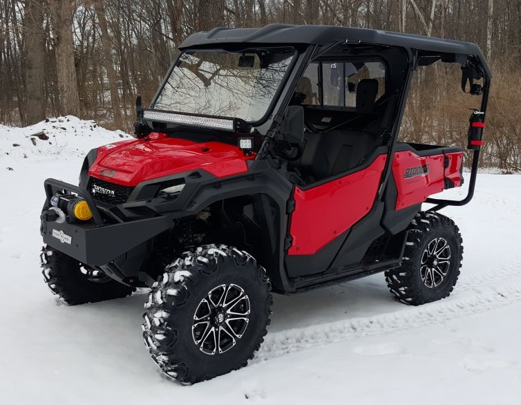 Feature Lifted Honda Pioneer 1000 5 Side By Side Utv