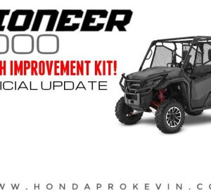 Honda Pioneer 1000 Clutch Improvement Kit Fix for Slipping Problems