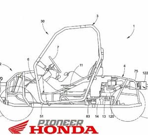 New 2017 Honda Pioneer Side by Side ATV / UTV Model Update - SxS Utility Vehicle Patents Released!