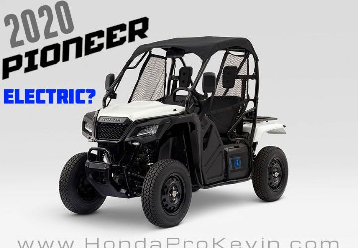 Best Side By Side Utv 2020.2020 Honda Side By Side Models Are Electric Utv Atv The