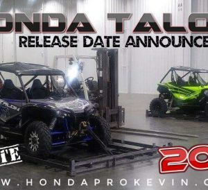 New 2019 Honda TALON 1000 Sport Side by Side Official Release Date Update | UTV / SxS Model News