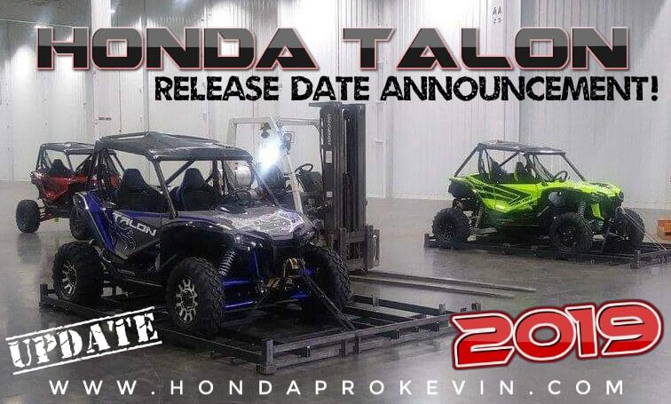 New 2019 Honda TALON 1000 Sport Side by Side Official Release Date Update | UTV / SxS Model News