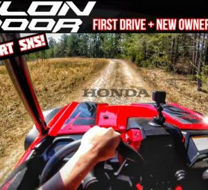 2019 Honda TALON 1000 Sideways Action Video + Acceleration and more...