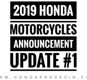 New 2019 Honda Motorcycles Released | Sport Bikes, Grom, Scooters, CRF Dirt / Trail Bikes