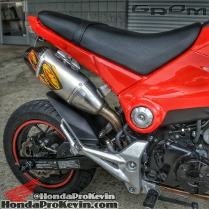 2015 Custom Honda Grom 125 Parts Review / MSX / Exhaust / Sliders / Exhaust / Motorcycle