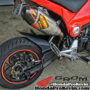 2015 Custom Honda Grom 125 Parts Review / MSX / Exhaust / Sliders / Exhaust / Motorcycle