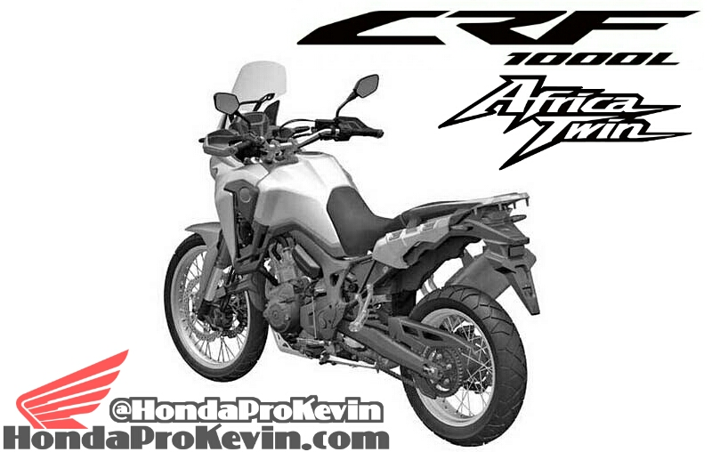 2016 Honda Dual Sport Adventure Motorcycle Models CRF1000L Africa Twin