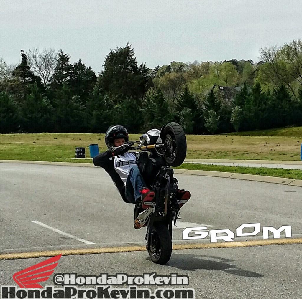 Honda Grom Stunt Wheelie Motorcycle Bike Chattanooga TN MSX125 MSX