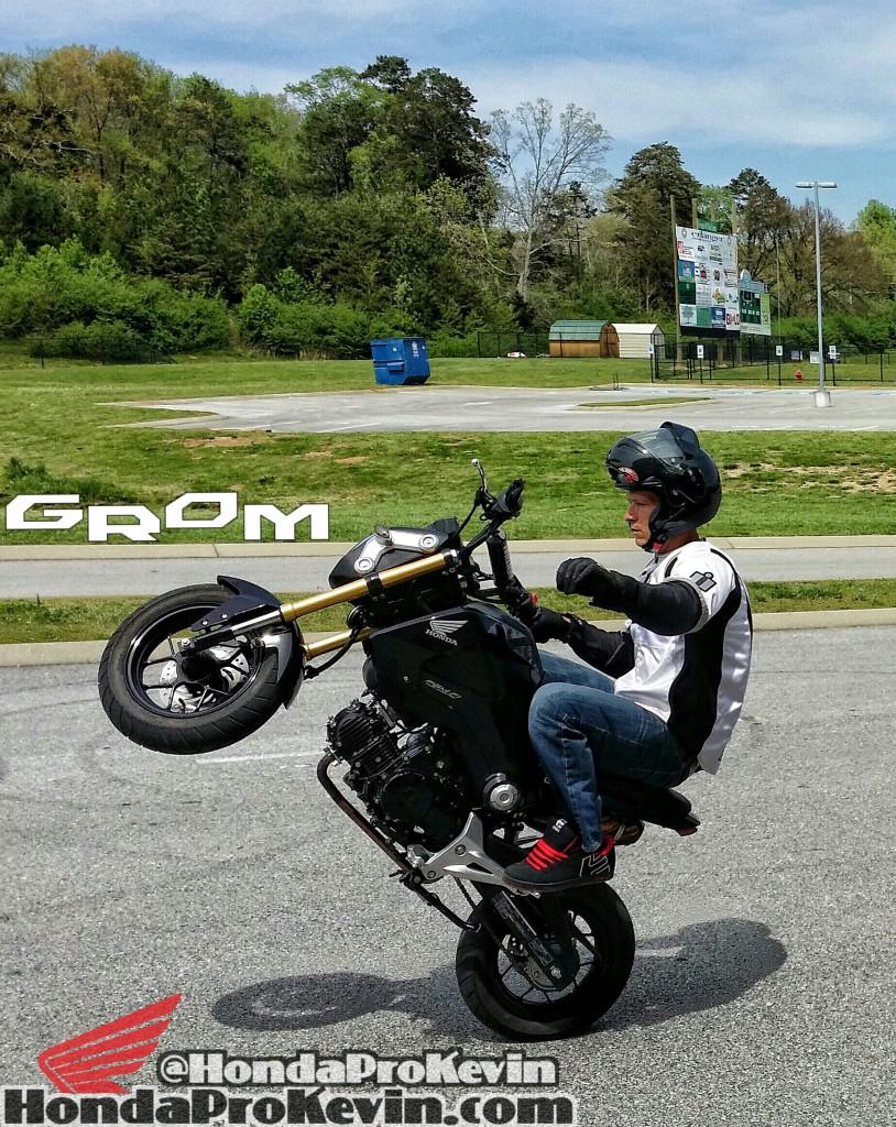 Honda Grom MSX125 Stunt Wheelie Motorcycle Chattanooga TN