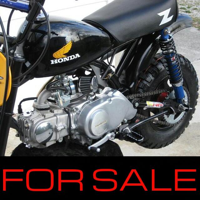 Vintage Honda 50 Mini Dirt Trail Bike For Sale Z50R